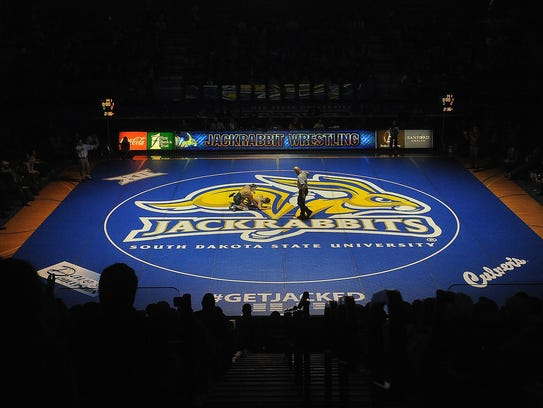 SDSU wrestling duals have a  main-event feel to them