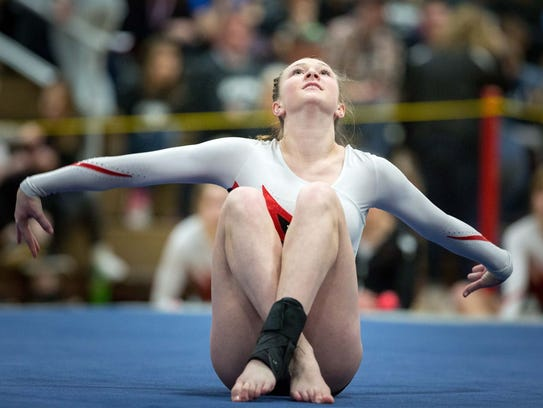 Clemens will compete in the vault and uneven bars events