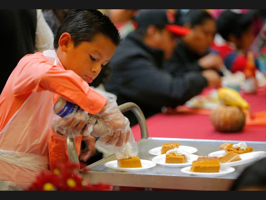 Thanksgiving day meals Thursday at the North County