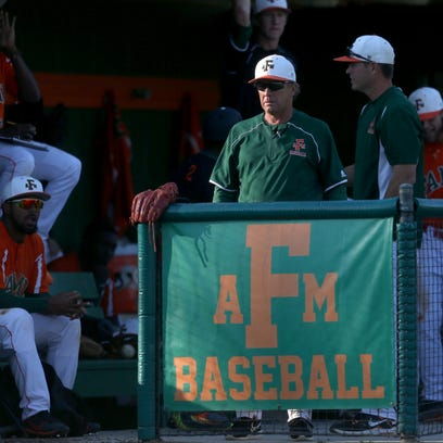 FAMU Head Coach Jamey Shouppe watches his team from