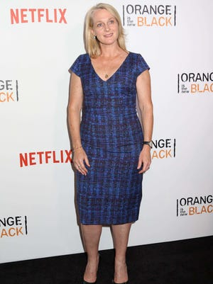 "Piper Kerman attends the New York premiere of the fourth season of Netflix?s ?Orange Is the New Black? on June 16, 2016. Kerman was the keynote speaker at Ohio University Lancaster's ""Celebrate Women' event Friday."