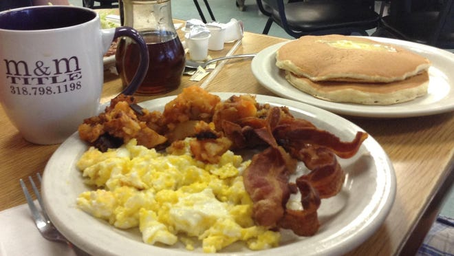 Breakfast is served all day at Strawn's Eat Shop Too.