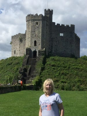 Karen Ravin of Farmington Hills took the D to Cardiff Castle in Wales in August 2017. Her mother was originally from Cardiff and Karen went to visit her cousin Lynne Hughes who lives there.