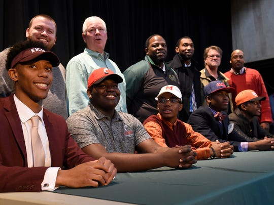 Players Matthew Jackson, headed to Eastern Kentucky;