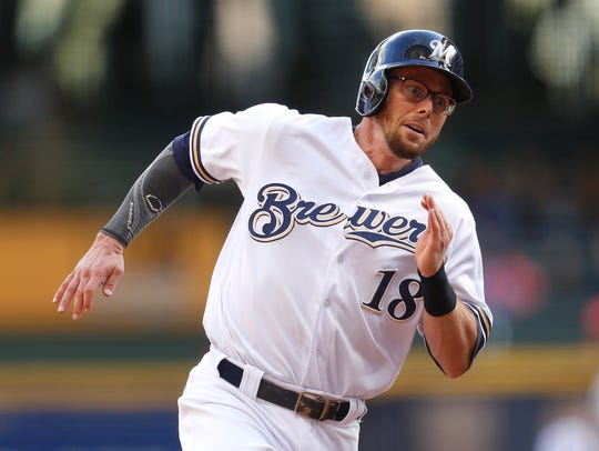Eric Sogard had a .273 batting average in 2017 with three homers and 18 RBI in 94 games.