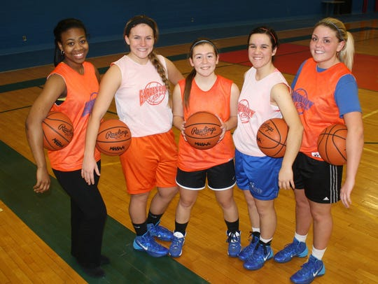 Pictured are Garden City basketball captains (from