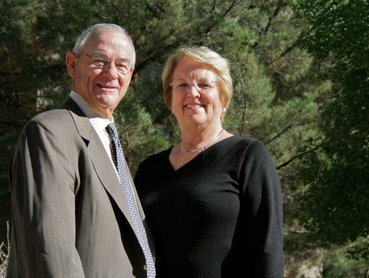 Bill and Sharon Sheriff have given $1 million to the