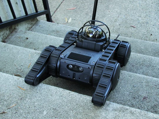 The Wichita Falls Police Department is applying for a $25,000 grant that would go toward purchase of a surveillance/negotiations robot, the AVATAR III. The robot can enter dangerous situations and report information without endangering personnel.