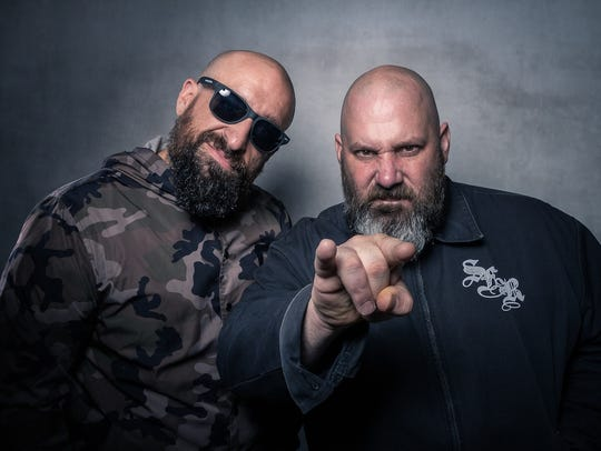 Epic Beard Men, Sage Francis and B Dolan, perform Thursday