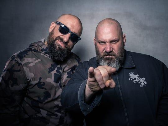 Epic Beard Men, Sage Francis and B Dolan, perform Thursday at The Wilbury.