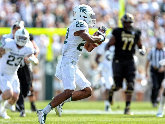 NCAA Football: Western Michigan at Michigan State