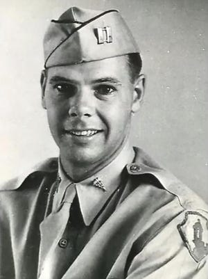 Dr. PJ Moore during his time as a World War II surgeon.