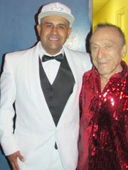 MC Magic, appearing with Art Laboe on a recent Summer Love Jam at The Show in the Agua Caliente Casino.