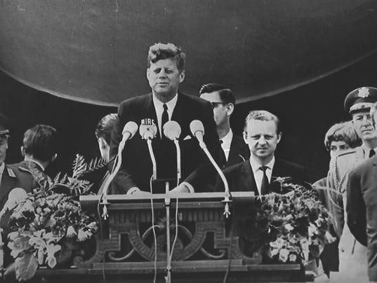 Jfk Reagan Words Helped Bring Down Berlin Wall