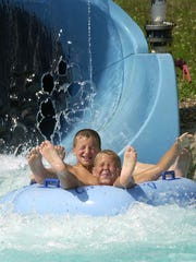 Roseland Waterpark in Canandaigua features 56 acres