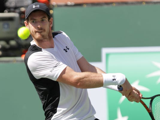 Another early exit for Andy Murray in Indian Wells