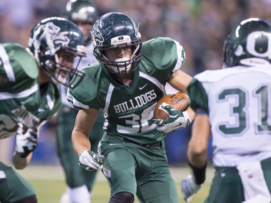 Monrovia's Dalton Smith ran for 1,362 yards last season.