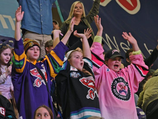Fans take in a recent Shreveport Mudbugs game on George's