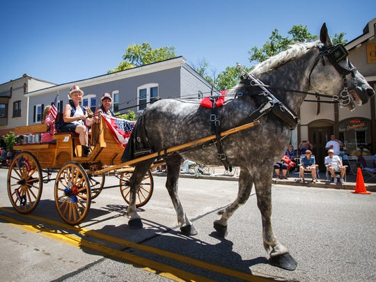 Hartland celebrates its hometown pride during its annual Hometown Celebration at the end of June.