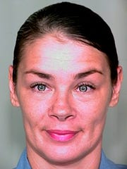 This undated photo provided by the Arizona Department of Corrections shows Kelly Ann Jaeger.