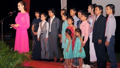 Angelina Jolie brought Hollywood to Cambodia on Saturday,
