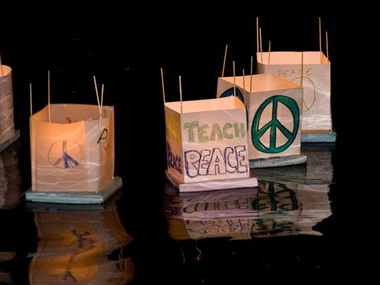 Lanterns for Peace, commemorating the atomic blasts