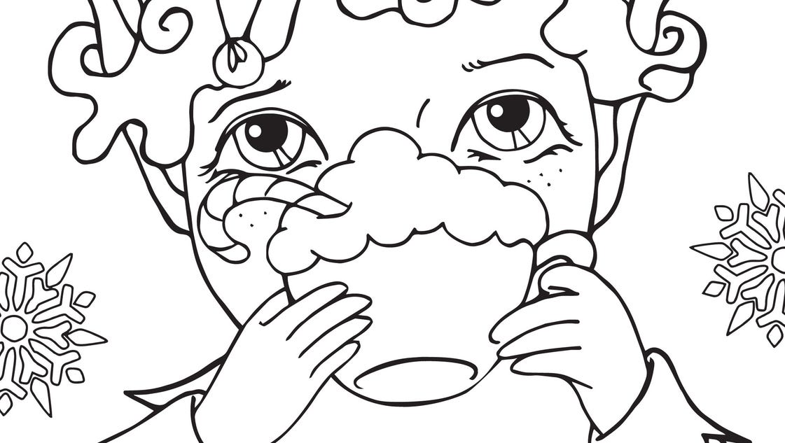 kvoa coloring contest pages - photo#35