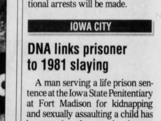 Newspaper stories about the killing of VickiLynn Klotzbach.