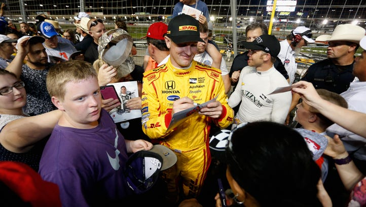 Hunter-Reay eager to change course on Belle Isle