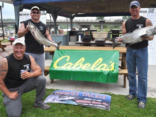 Lake Michigan fishing