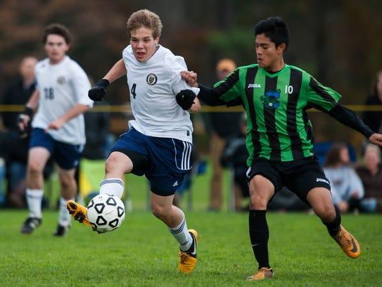 Colchester vs. Essex Boys Soccer 10/25/14