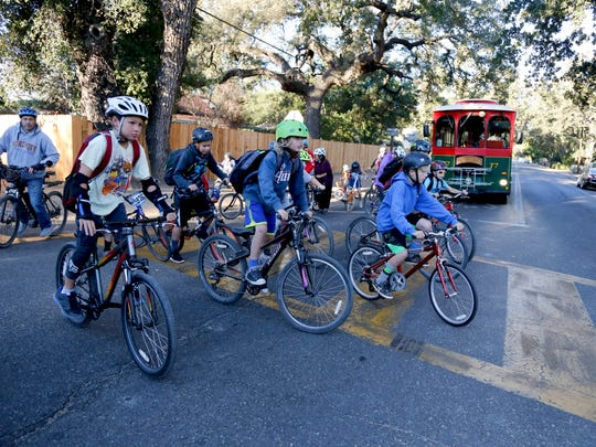 The Ojai Valley Bike Coalition oversees kids riding