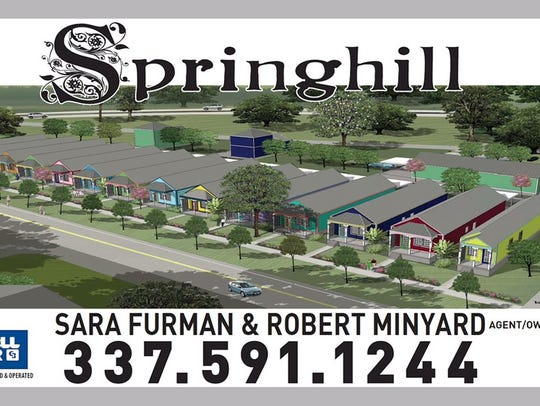 An ad for Springhill is shown