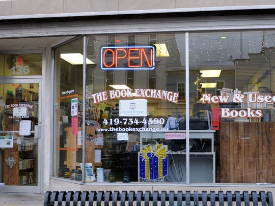 The Book Exchange, 136 Madison St., Port Clinton, offers gently used and new books as well as movies, games, puzzles and sports memorabilia trading cards. Owner Thomas Schafer took over the store a year ago and also sells his historical horror books at the shop.