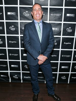 Jerry Seinfeld attends a charity event in Beverly Hills, California, on April 20, 2016.
