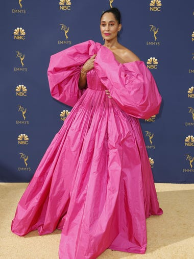 Tracee Ellis Ross arrives at the 70th Primetime Emmy