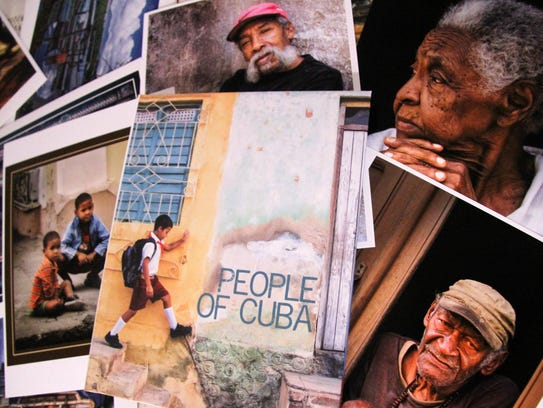 Many of Shoemaker's photos focus on the people of Cuba.