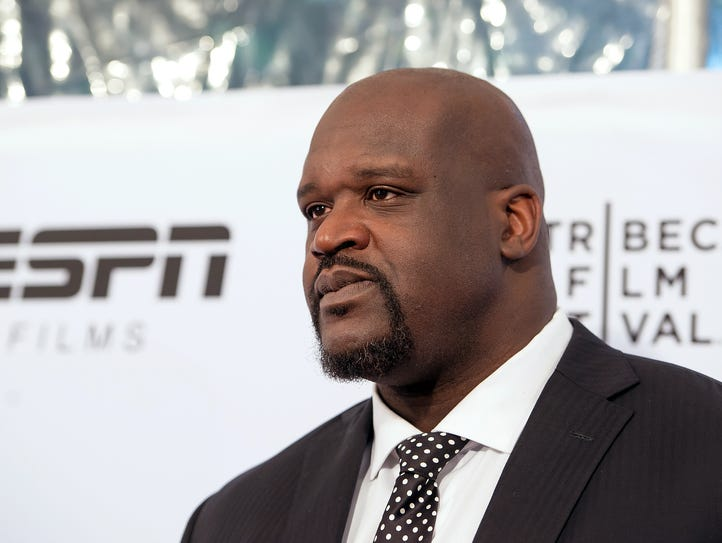 """Shaquille O'Neal attends the ESPN Gala: """"30 For 30:"""