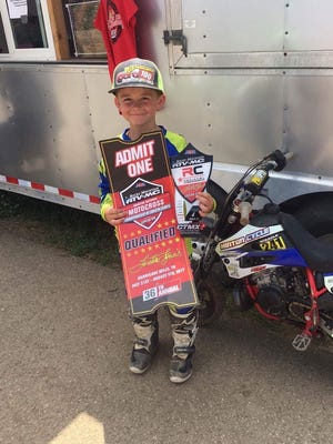 Hayden Hardcastle qualified for the Loretta Lynn national championships after finishing fourth at the regional competition.