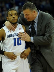 Creighton guard Maurice Watson Jr., left, averaged 14.1 points and 6.5 assists a game last season.