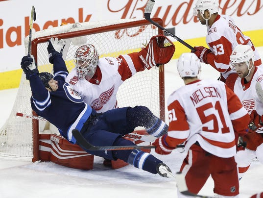 Red Wings Jets Hockey