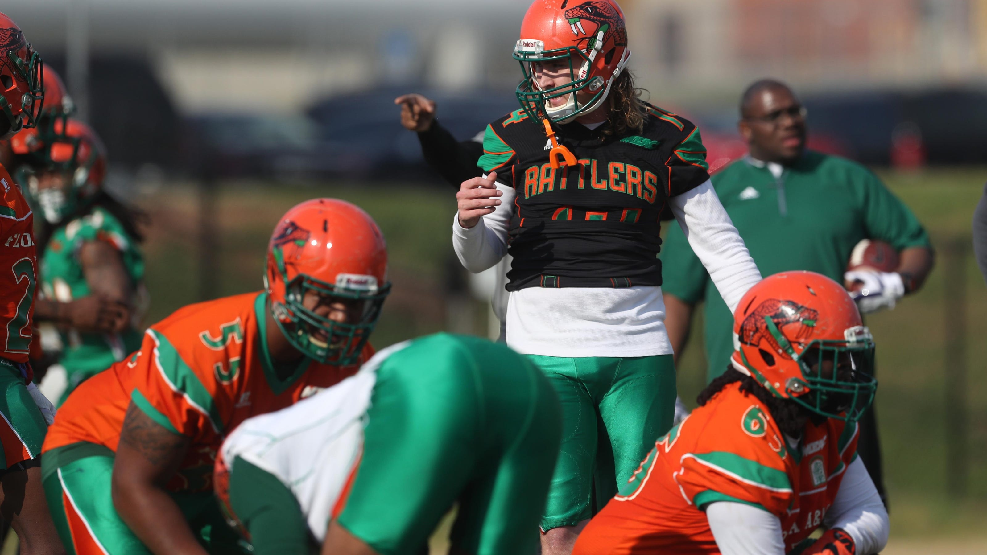 Famu Football Holds 1st Spring Scrimmage Saturday