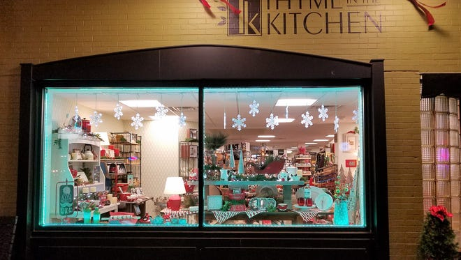 Thyme in the Kitchen is located at 2308 W. Franklin St. This locally owed store has gobs of gift ideas behind it's doors.