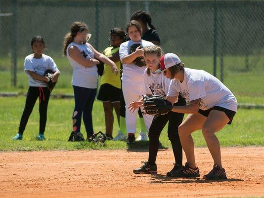 All Marines Women's Softball Clinic 1