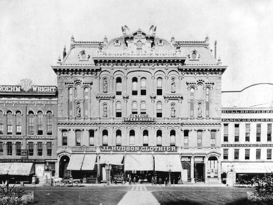 J.L. Hudson's first store on Campus Martius in the