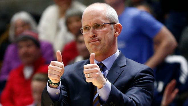 Rhode Island head coach Dan Hurley should be the first call Rutgers athletic director Pat Hobbs makes in his search to replace Eddie Jordan.
