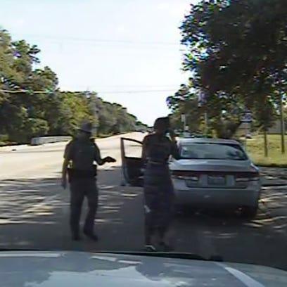 Dashcam video of Texas trooper Brian Encinia arresting