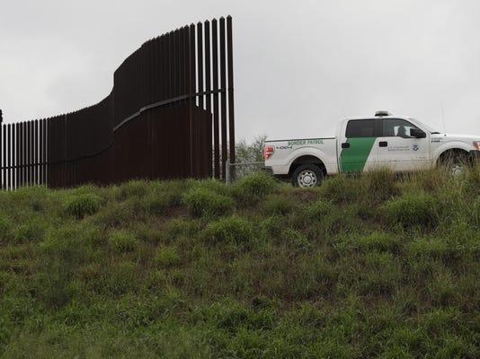 Border Wall Texas