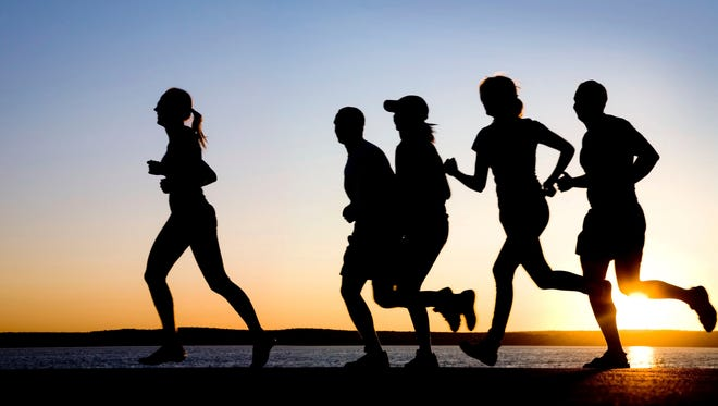 Running with friends can keep you running more often.