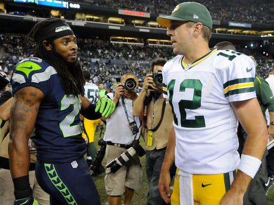 Aaron Rodgers, Richard Sherman